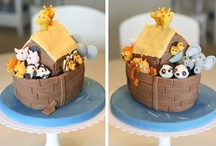 Baby Cake Decoration Inspiration / by The Cupcake Lady (SA)