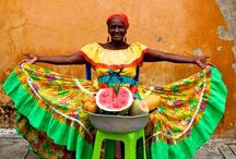El Mercado / Food Markets, farmers markets, street food, food vendors, flower markets, flower vendors, mercados, food around the world. / by Carmen Edwards