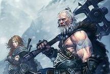 Fantasy:Barbarian (M) / by Ralap Tsai