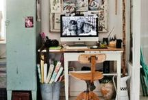 Working for the weekend / home office ideas  / by Pamela H