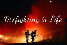Firefighting / Something I Love Doing!!!  I have been a  Volunteer Firefighter for just over 5 years now ..I belong on our departments Rescue Company...I am also an Instructor / by Jennifer MacKinnon