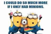 Minions....I love these little guys!! / by Jennifer MacKinnon