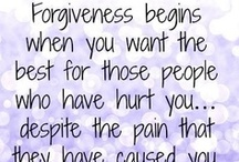 FORGIVEness / Learning to forgive my enemies...... / by Angie Seiler ✄