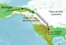 Beringia & Paleo-indian / Beringia  bridge has a particular significance as a postulated route of human migration to the Americas from Asia about 20,000 years ago / by Richard Guimond