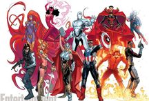 Marvel Comics / Pictures of the famous Marvel Comics heroes and villains.  / by Seth C