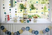 Chic Baby Showers / Get inspired by these beautiful baby shower themes and decor, and show the expecting mom how much you care! / by BabyShower.com