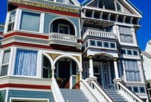 Painted Ladies of San Francisco. / Victorian Homes great Beauties / by Lola Girl