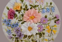 Ribbon Embroidery / by Grace Dunn