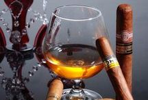"""A Drink and a Smoke (LiquorList.com) / What a mix of past times!  Find inspiration and memories here and get the products you love at www.LiquorList.com  """"The Marketplace for Adults with Taste"""" @LiquorListcom   #LiquorList / by LiquorList.com"""