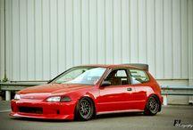 Honda Civic H.B's / Honda Civics mostly Hatches / by ♠️Tommy 2Step♠️