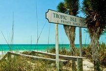 Tropic Isle Beach  Resort / Tropic Isle Beach Resort is situated in the middle of Anna Maria Island and steps away from our tranquil private beach.  / by Anna Maria Island Resorts