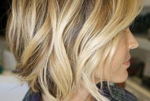 New Hair Ideas / I'm thinking about kissing my blonde locks good-bye! / by Lindsay Travis