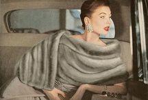 Vintage Fashion / Fashion of days gone by. / by Donale Cochran