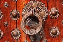 Knock ☛ & The Door Will Be Opened To You / ...unless the door is already open, then just go right in... or if you have a key, then you can use it instead of bothering someone inside to get up and answer the door. / by Marilyn Clark