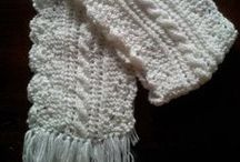 Knittting And Crochet Scarves / knit or Crochet beautiful and elegant scarves / by learn how to knit a scarf