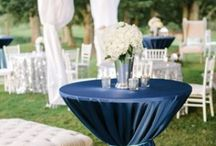 Navy Blues / Color Palette / by Mona Moore Events