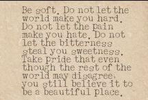 Quotes / by Kathleen Kelly