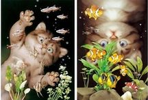 Kitty Paints / by Pam Traves
