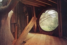 Treehouses / Please pin (or 'like') only 10 - 15 of my pins per day - thank you / by Connie Lee