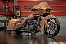 Road Glides / Custom Harley-Davidson Road Glides / by Baggers Mag