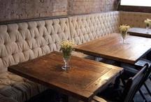 [Cafe, Restaurant, Nightclub Interiors] / by Deborah Smith