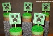 Minecraft Party / by Jessica Acuña