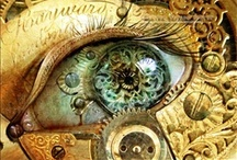 "Clockwork Angelus / ""The game is afoot."" – Arthur Conan Doyle, Sherlock Holmes / by Cimorene"