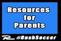Be All That You Can Be (In the soccer mom army) / Great resources for soccer parents.  / by Rush Soccer
