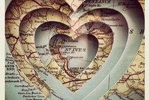 Maps Creativity / Maps of all types. Crafted into many and varied forms. / by Carol Tadden