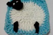 MAS GRANNYS SQUARE CROCHET!!!!!! / by Marinieves Morales
