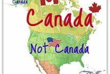 Canada, Our Neighbor to the North / The US is so lucky to have Canada as our Northern Border. Canada is, and always has been, the greatest neighbor in the world, and, as a US citizen, I thank you.  / by Betsy