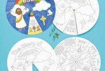 New Testament worksheets/color pages / Worksheets for Bible class, also color sheets / by Julie Patterson