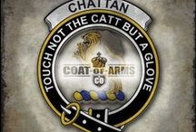 Clan Chattan -- The Super Clan / Clan Chattan Crests & Symbols. This is a work in progress as there were numerous member clans of Clan Chattan. / by Rose Ann