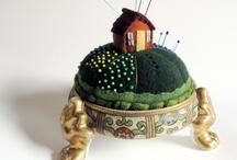 Pincushions / Aren't they fun? / by Nancy Wright