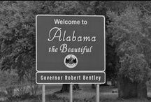 """Sweet Home Alabama / Alabama is known as """"The Heart of Dixie"""" / by Beth King Knowles"""