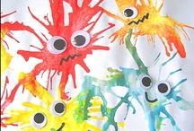 Arts and Crafts With Kids / Lets get creative! / by Alissa :: Creative With Kids