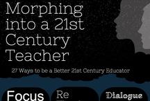 Teaching / Teaching teachers how to teach, teaching myself how to teach, teaching students how to learn, learning to learn. / by Mia MacMeekin