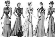 The 1890s: Daywear / by Hoko Karnegis