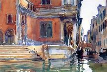 John Singer Sargent / The paintings of ex-patriot, post impressionist painter, John Singer Sargent. / by Loren Entz