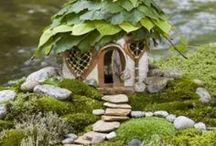 Fairy Quarters / Creating a fantasy environment for fairies in a garden / by Cheryl Borst