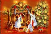 scenes of christmas / by Terri Lea Worthington