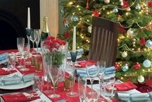 christmas tables, recipes and treats / by Terri Lea Worthington