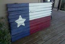 Texas Flag Art / by Samantha Lawrence