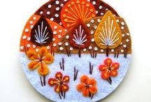 Little Felt Treasures / A variety of felted items (e.g., animals, flowers, etc.) / by ImagineMechanix