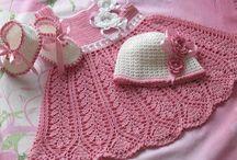 Vestidos niñas a Crochet / by María Cordova
