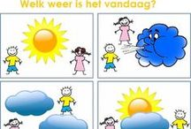 Thema weer / by juf cindy