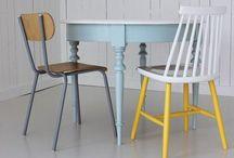 Design og redesign on pinterest - Customiser chaise formica ...