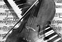 Violin&Piano Art / by Darlene Calder