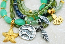 Beach Jewelry/Accessories / Nature inspired accessories as well as everything else bright and shiny I love. / by SuzanneBag