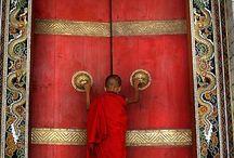 Türen / Donde una puerta se cerra, otra se abre!  Wo sich eine Tür schließt, öffnet sich eine andere! Moliére / by Edith Rejc